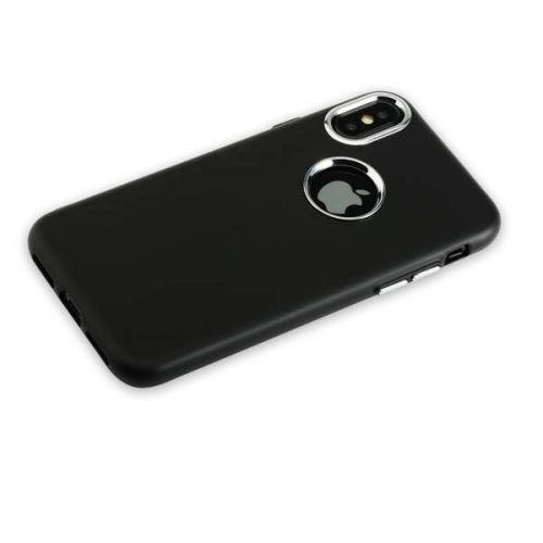 Чехол J-Case Metal Touch Series Matt для iPhone X Черный