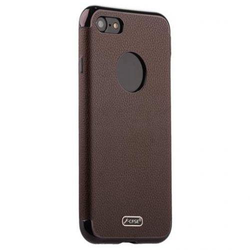 Чехол J-case Jack Series (с магнитом) для iPhone 7/ 8 Коричневый