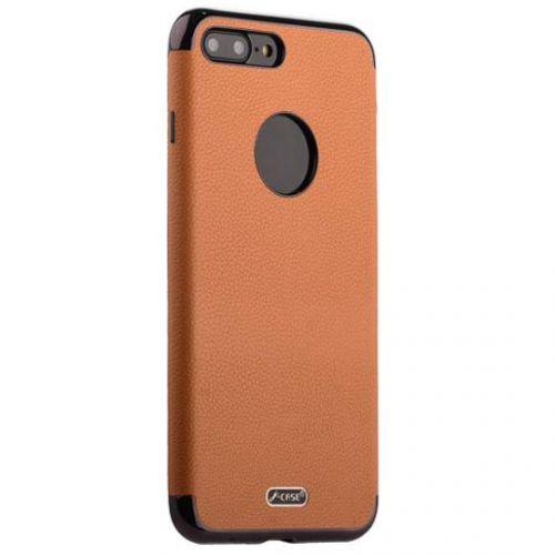 Чехол J-case Jack Series (с магнитом) для iPhone 7 Plus/ 8 Plus Светло-коричневый