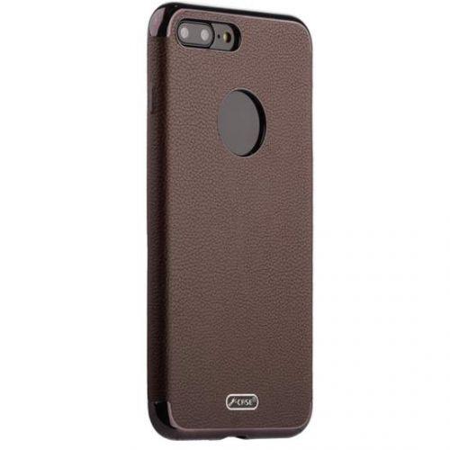 Чехол J-case Jack Series (с магнитом) для iPhone 7 Plus/ 8 Plus Коричневый