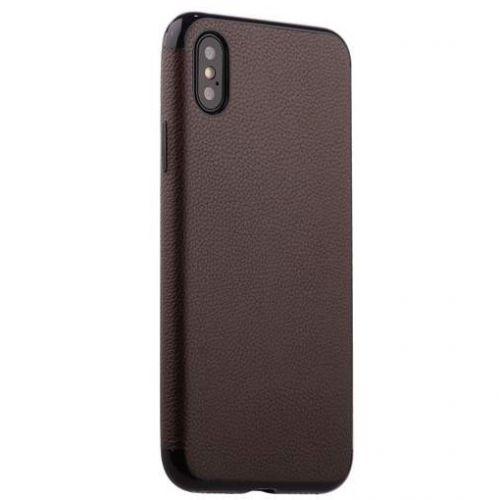 Чехол J-Case Jack Series для iPhone X Коричневый
