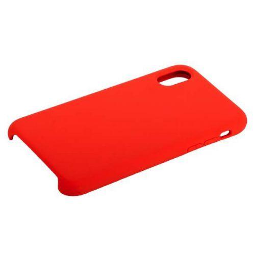 Чехол COTEetCI Liquid Silicone Case для iPhone X Красный