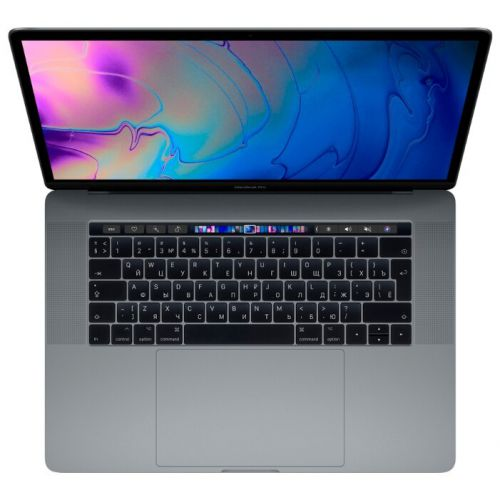 Ноутбук Apple MacBook Pro 15 with Retina display and Touch Bar Mid 2019 (MV912 Space Gray 512GB)