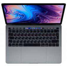 "Ноутбук Apple MacBook Pro 13 with Retina display and Touch Bar Mid 2019 (Intel Core i5 1400 MHz/13.3""/2560x1600/8GB/128GB SSD/DVD нет/Intel Iris Plus Graphics 645/Wi-Fi/Bluetooth/macOS) MUHN2 Серый космос"