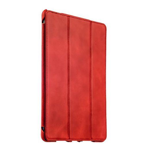 """Чехол кожаный i-Carer для iPad Pro (9.7"""") Vintage Series Красный"""