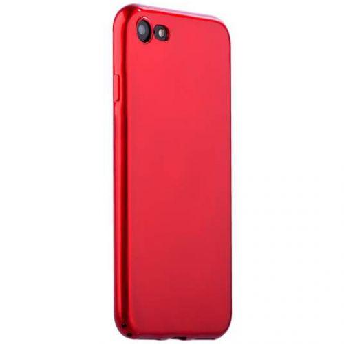 Чехол J-case Shiny Glazed Series для iPhone 7/8 Красный