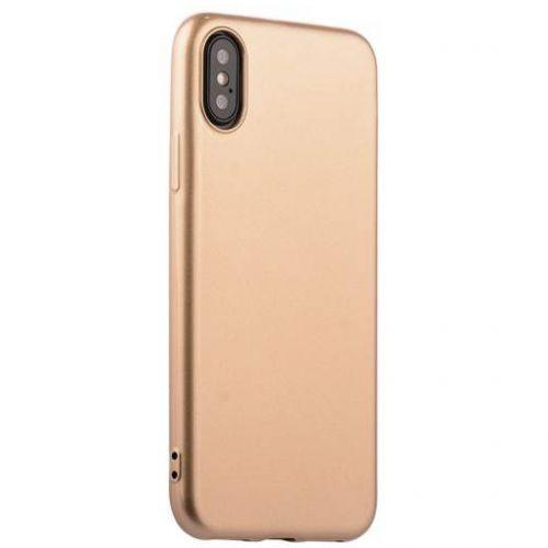 Чехол J-Case Shiny Glaze Series для iPhone X Золотистый