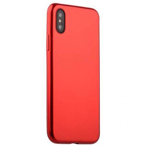 Чехол J-Case Shiny Glaze Series для iPhone X Красный