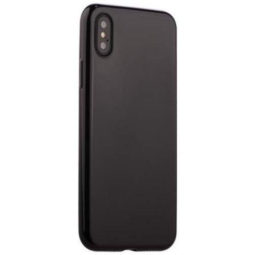 Чехол J-Case Shiny Glaze Series для iPhone X Черный