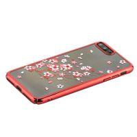 Чехол KINGXBAR для iPhone 7 Plus/ 8 Plus со стразами Swarovski Красный