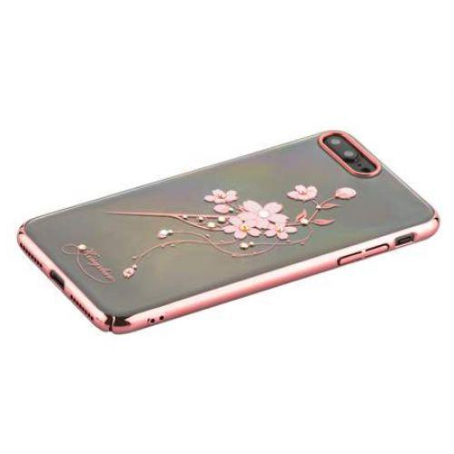 Чехол KINGXBAR для iPhone 7 Plus/ 8 Plus со стразами Swarovski Розовое золото