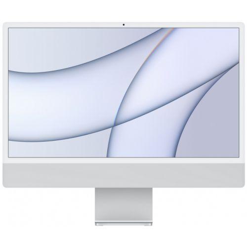 "Apple iMac 24"" Retina 4,5K, M1 (7-core GPU), 8 ГБ, 256 ГБ (серебристый)"