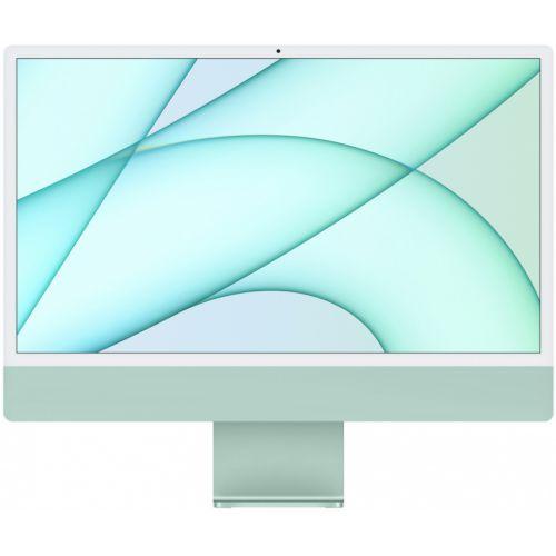 """Apple iMac 24"""" Retina 4,5K, M1 (8-core GPU), 8 ГБ, 512 ГБ (зеленый)"""