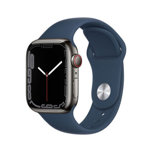 Умные часы Apple Watch Series 7 45mm Blue Aluminum Case with Sport Band (Abyss Blue)