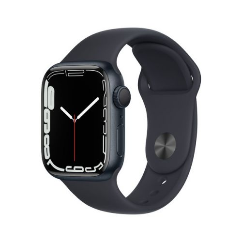 Умные часы Apple Watch Series 7 41mm Midnight Aluminum Case with Sport Band (Midnight)