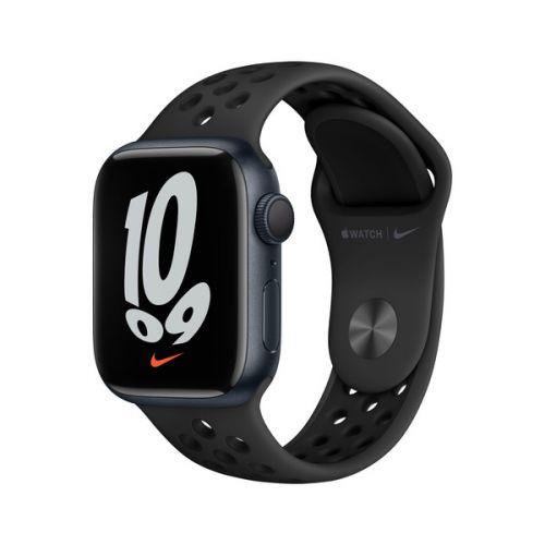 Умные часы Apple Watch Nike Series 7 41mm Midnight Aluminium Case with Anthracite/Black Nike Sport Band