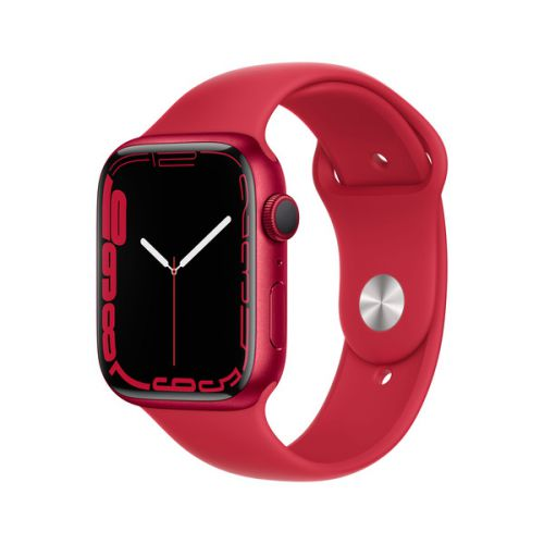 Умные часы Apple Watch Series 7 45mm (PRODUCT)RED Aluminum Case with Sport Band (Red)
