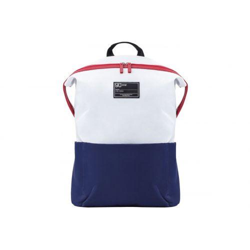 Рюкзак Xiaomi 90 Points Lecturer Casual Backpack бело-синий