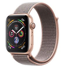 Apple Watch Series 4 40mm Gold Aluminum Case with Sport Loop (Pink Sand)