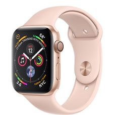 Apple Watch Series 4 40mm Gold Aluminum Case with Sport Band (Pink)