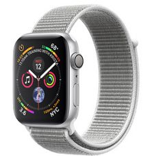 Apple Watch Series 4 44mm Silver Aluminum Case with Sport Loop (Seashell)