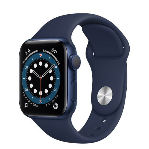 Умные часы Apple Watch Series 6 44mm Blue Aluminum Case with Sport Band (Blue)