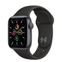 Умные часы Apple Watch SE 40mm Space Gray Aluminum Case with Sport Band (Black)
