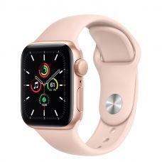 Умные часы Apple Watch SE 40mm Gold Aluminum Case with Sport Band (Pink)