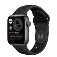 Умные часы Apple Watch SE 40mm Space Gray Aluminum Case with Nike Sport Band (Black)