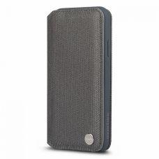 Чехол-бумажник Moshi Overture для Apple iPhone Xs Max (Herringbone Gray)