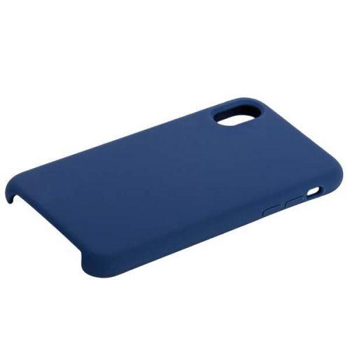 Чехол COTEetCI Liquid Silicone Case для iPhone X Синий