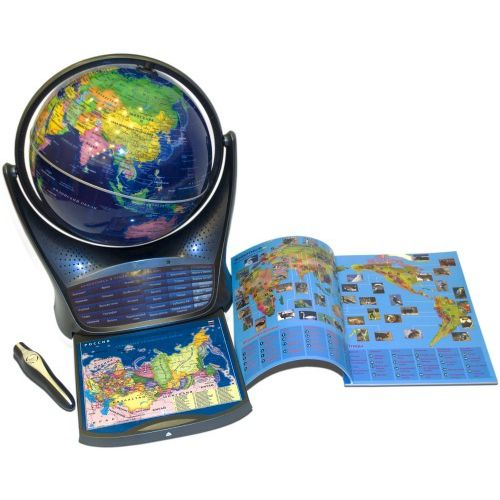 Интерактивный глобус Oregon Scientific SG18 с голосовой поддержкой