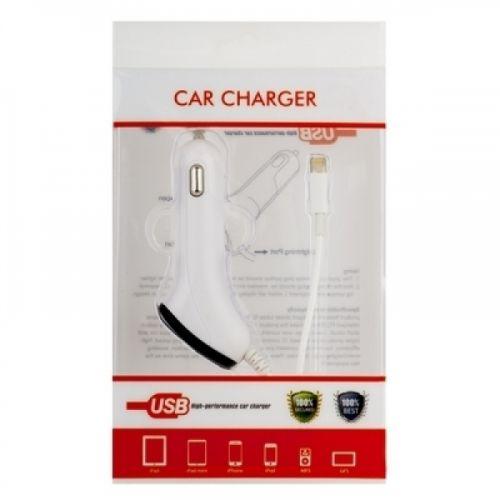 Автомобильное зарядное устройство для iPad 4/ iPad mini/ iPhone 5