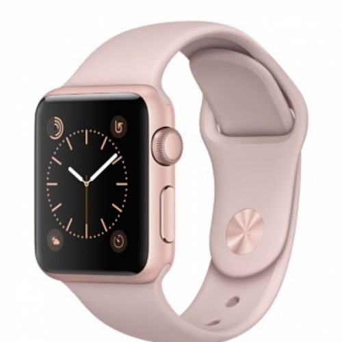 Apple Watch series 2 42mm Aluminium Case with Pink Sand Sport Band (Rose Gold)